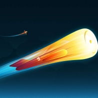 Fire Rocket Wallpapers