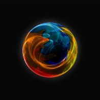 Firefox Dark Widescreen Wallpapers