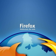 Firefox Glass Wallpapers