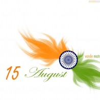 Flag Of India Happy Independence Day Vande Matram Hd Wallpaper