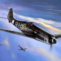 Focke Wulf Fw190 Wallpaper