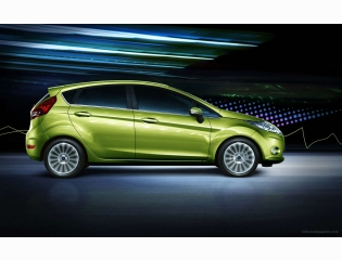 Ford Fiesta Green Hd Wallpapers