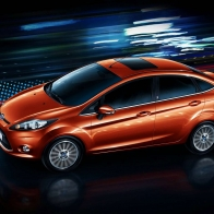 Ford Fiesta Sedan Hd Wallpapers
