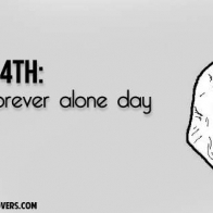 Forever Alone Valentine Cover