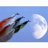Frecce Tricolori Italian Air Force Aerobatic Team Wallpaper