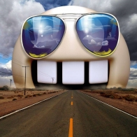 Funny Highway Sunglasses Wallpapers