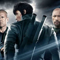 G I Joe Retaliation Dwayne Johnson Bruce Willis Wallpaper