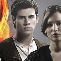 Gale Katniss Peeta Hunger Games Facebook Cover