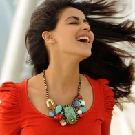 Genelia D Souza In Red Wallpaper