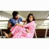 Genelia Dsouza And Rana Daggubati Sitting Pose In Naa Ishtam