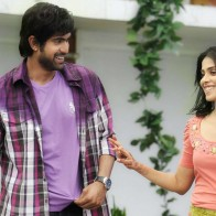 Genelia Dsouza And Rana Daggubati Walking Outside House In Naa Ishtam