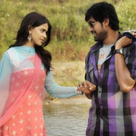 Genelia Dsouza Caught Rana Daggubati Hand Near River In Naa Ishtam