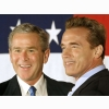 George Bush And Arnold Schwarzenegger
