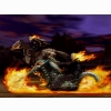 Ghost Rider On Motorycle Wallpaper