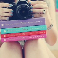 Girl Legs Books Camera Nail