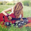Download Girl With Guitar Hd Wallpapers, Girl With Guitar Hd Wallpapers Free Wallpaper download for Desktop, PC, Laptop. Girl With Guitar Hd Wallpapers HD Wallpapers, High Definition Quality Wallpapers of Girl With Guitar Hd Wallpapers.