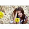 Girl With Yellow Flower Wallpapers