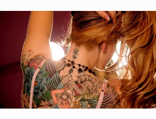 Girls With Tattoos Wallpapers