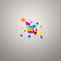 Glassy Colors Of Apple Wallpapers