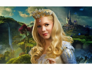 Glinda Oz The Great And Powerful 2013 Movie Wallpaper