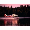 Go For Takeoff Dehaviland Beaver Aircraft Lake Hood Alaska Wallpaper