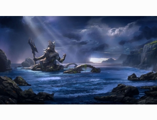 God Of War Ascension Poseidon