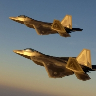 Golden Jet Fighter Planes Wallpapers