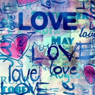 Graffiti Love Wallpaper
