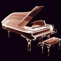 Grand Piano Glass