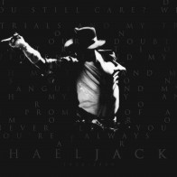 Grayscale Michael Jackson Singers Tribute Wallpaper