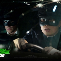 Green Hornet A Night On The Town Wallpaper