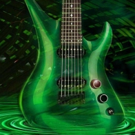 Guitar In Water Wallpaper