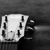 Guitar Neck Black And White Photos