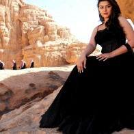 Hansika Motwani In Black Dress Hot