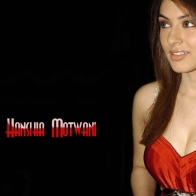 Hansika Motwani Red Dress
