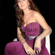 Hansika Purple Color Dress