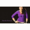 Hansika Purple Color T Shirt Cap