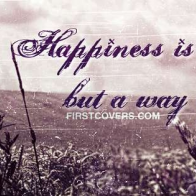 Happiness Quote Cover