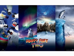 Happy Feet Two Movie Wallpapers