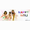 Happy Holi Facebook Timeline Profile Cover Wallpapers