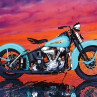 Harley Davidson El Knucklehead Wallpaper