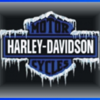 Harley Davidson Logo Ice Wallpaper