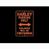 Harley Davidson Parking Only Wallpaper