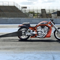 Harley Drag Bike Wallpaper