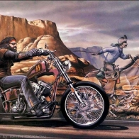 Harley Outlaw Wallpaper