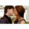 Harry Potter Ginny Kiss Deathly Hallows 2 Wallpaper