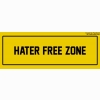 Hater Free Zone Cover