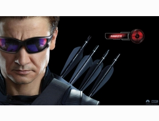 Hawkeye In Avengers Movie Wallpapers