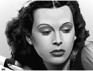 Hedy Lamarr Wallpaper