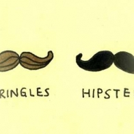 Hipster Mustache Cover